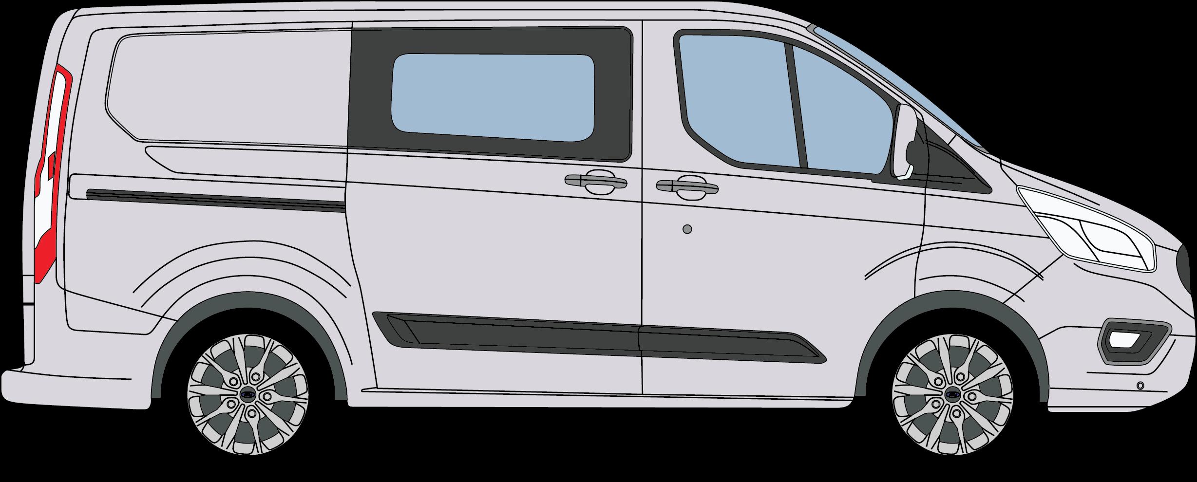 Ford Transit Custom Crew Van