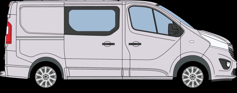 Vauxhall Vivaro Crew Van