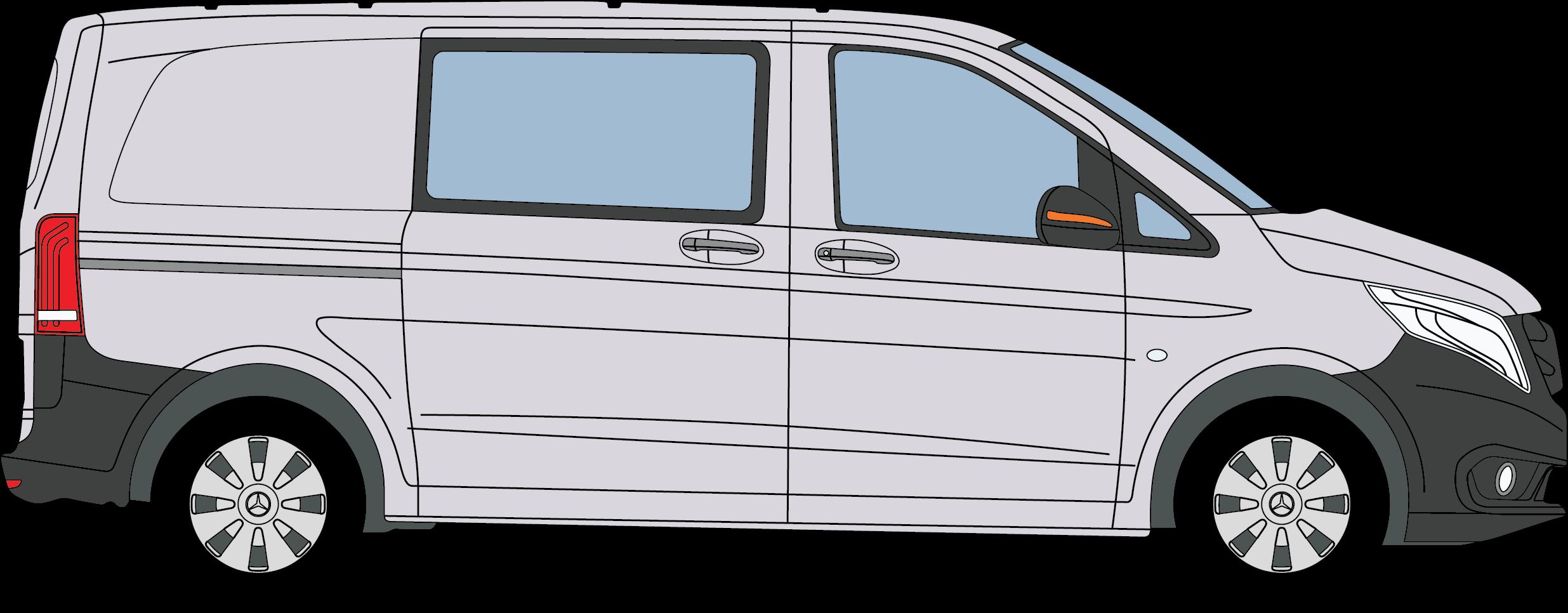 Mercedes Benz Vito Crew Van