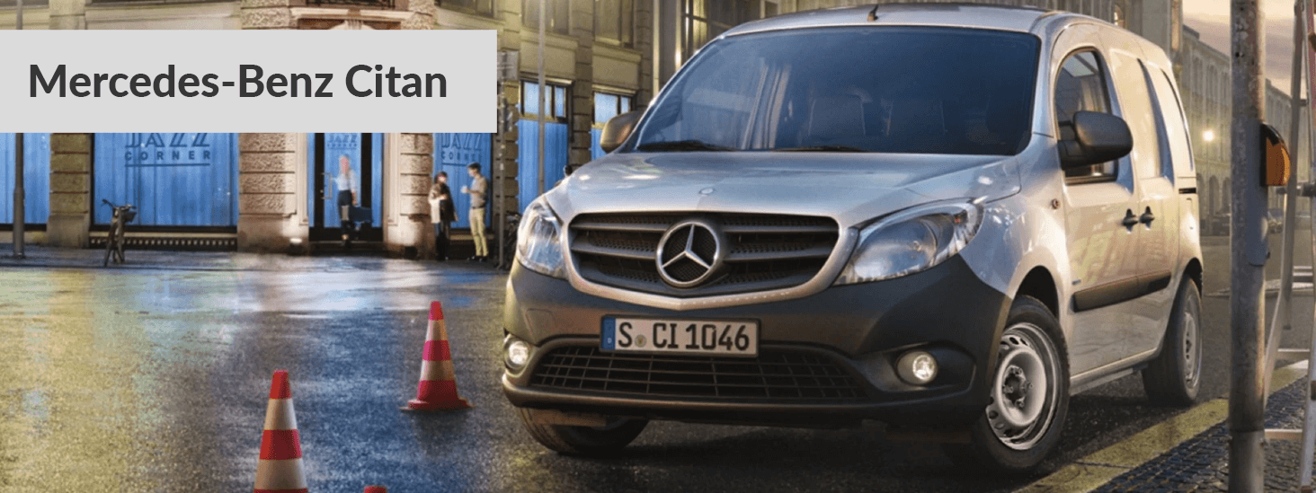 Mercedes Benz Citan Tablet