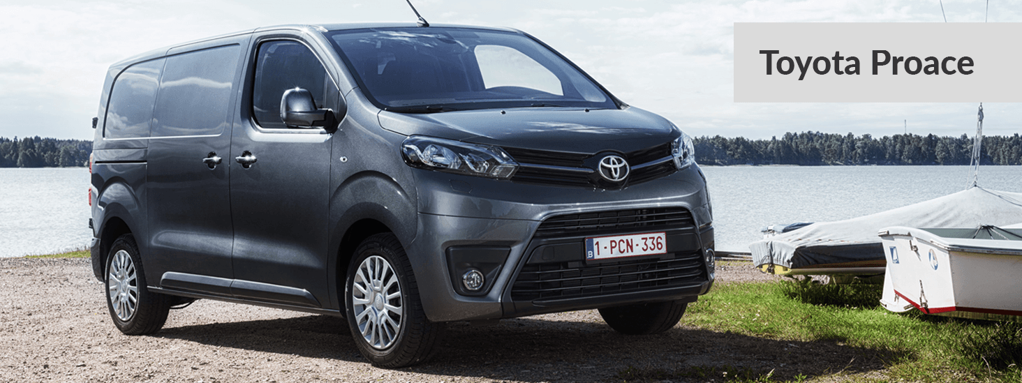 Toyota Proace Tablet
